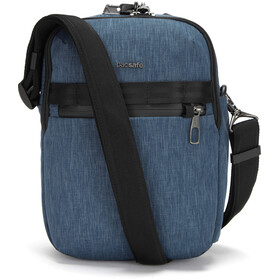 Pacsafe Metrosafe X Verticale Crossbody Tas, dark denim